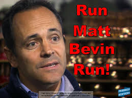 Forest Gump is Bevin's sloganeer...