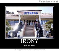 Fitness Irony