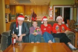 Bad Family Christmas Photo