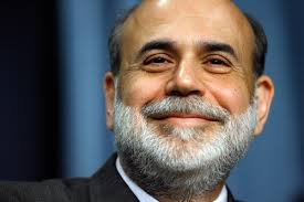 Happy Ben Bernanke