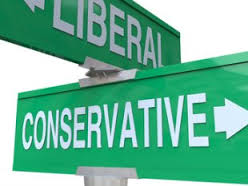 Liberal vs Conservative Streets