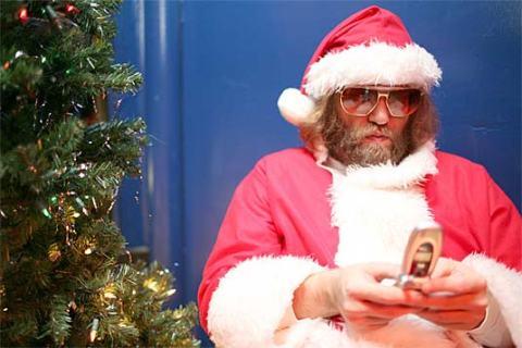 Santa-texting