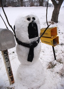 MB's Frozen Mailbox
