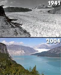 1941 to 2004 Glacier