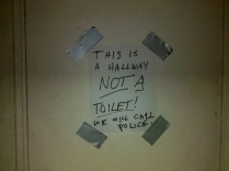 hallway threat