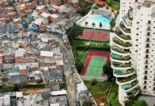 This is what income inequality looks like in Sao Paulo...