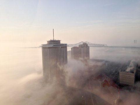 Nola river fog