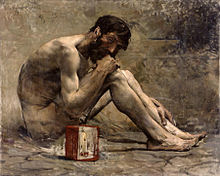 """Diogenes"" by Jules Bastien-Lapage (1873)"