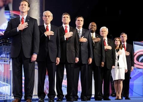 2012 Debaters