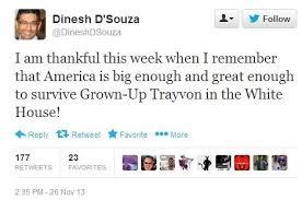 D'Souza Tweet