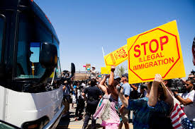 Immigration Buses