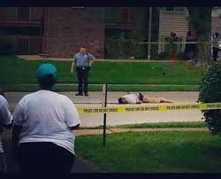 Michael Brown Body