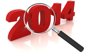2014 review magnifying glass