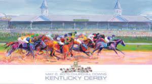 Karen Boone's Derby Poster