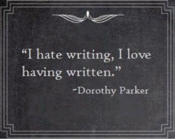 hate writing love written