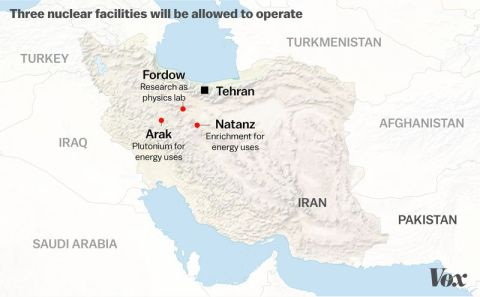 Iran Nuclear facilities allowed to operate