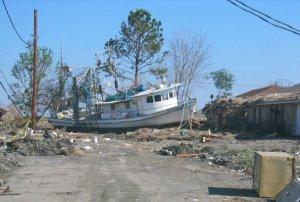 Katrina shrimp Boat Chalmette