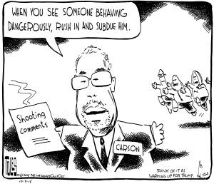 Carson Cartoon
