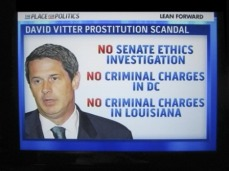 Vitter no charges