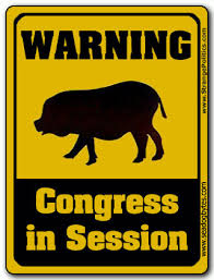 Warning Congress in Session