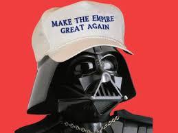 Trump as Vader