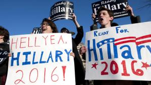 Hillary Campaign Signs