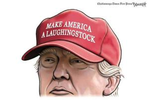 Trump Laughing Stock