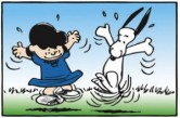 Lucy-snoopy dancing