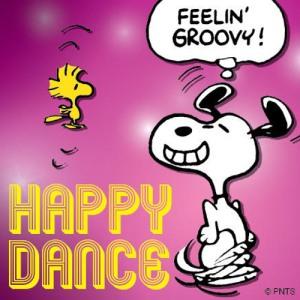 Snoopy woodstock dance