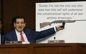Ted Cruz gun