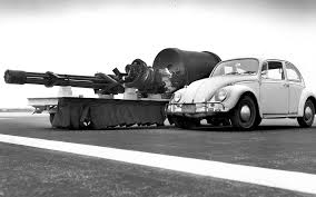 VW and tank
