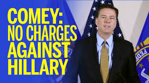 Comey No charges