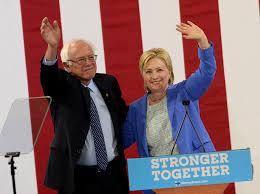 Hillary Bernie endorsement