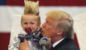 Trump and baby