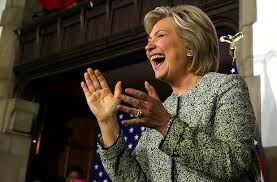 hillary-laughing