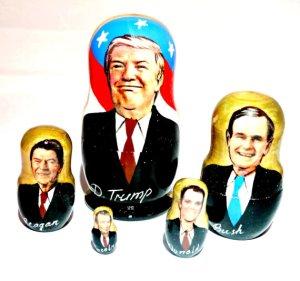 Trump Nesting Troll Dolls