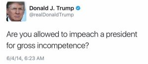 allowed-to-impeach-a-president-for-incompetence